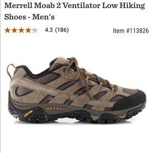 MEN'S MERRELL MOAB 2 VENTILATOR LOW HIKING SHOE